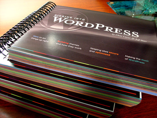 Digging into WordPress 3.1 - Print Edition (5 of 5)