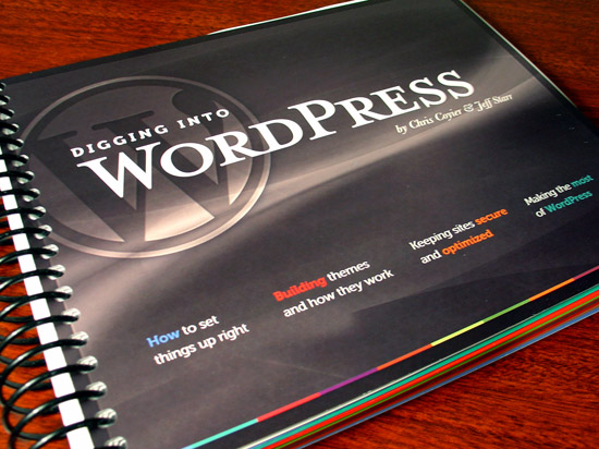 Digging into WordPress 3.1 - Print Edition (1 of 5)