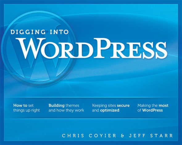 Digging Into WordPress book cover