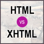 Thumb for Poll: HTML or XHTML for Markup?