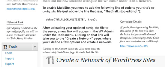 Screenshot: Digging Into WordPress content