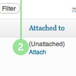 Attach Unattached Media Files