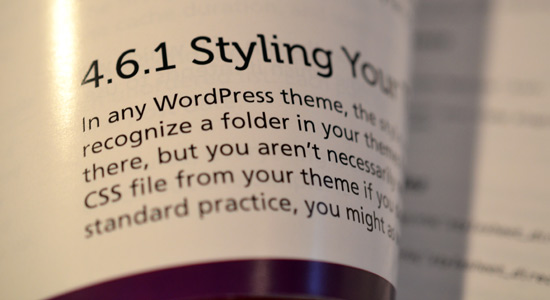 Digging into WordPress (Print Edition): Clear Typography