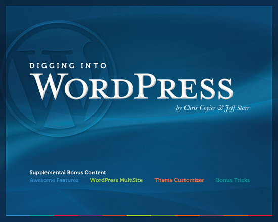 Digging Into WordPress - Supplemental Bonus Content