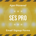 SES Pro – Ajax Powered Email Signup Forms