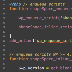 Better Way to Add Inline Scripts