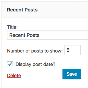Shortcode to Display Recent Posts on Any Post or Page