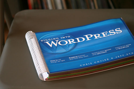 Digging Into WordPress printed book