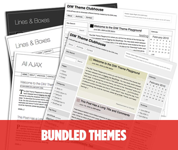 DigWP Bundled Themes