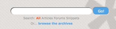 Google Custom Search at CSS-Tricks