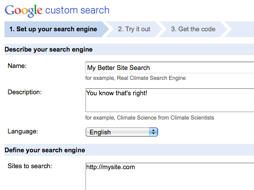 Using Google Custom Search In WordPress