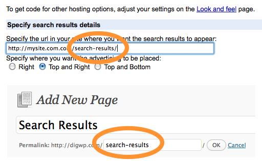 Specify custom Page URL